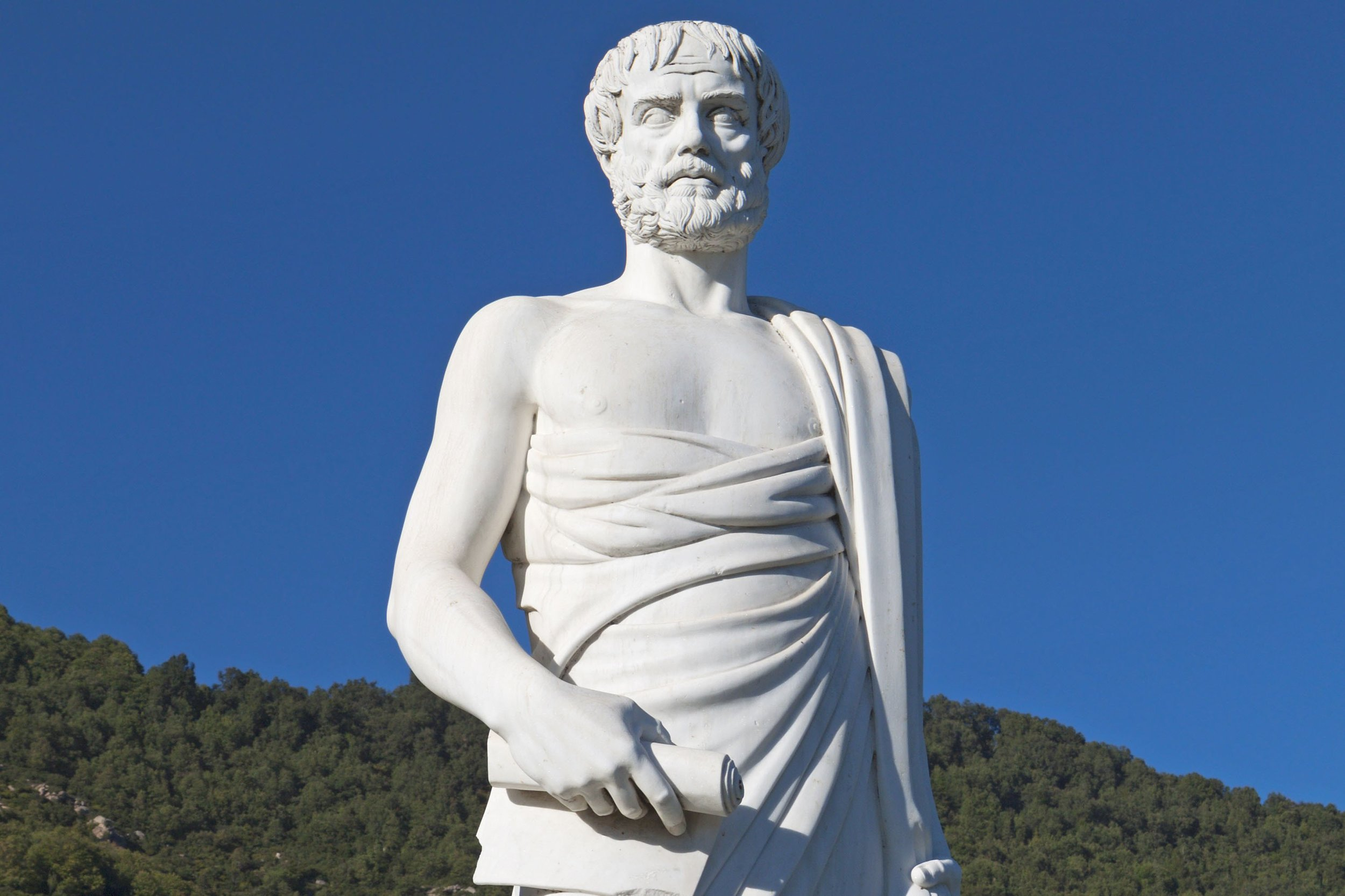 "Aristotle is one of the most famous philosophers, the so-called ""Father of Western Philosophy"". Source: NY Post"