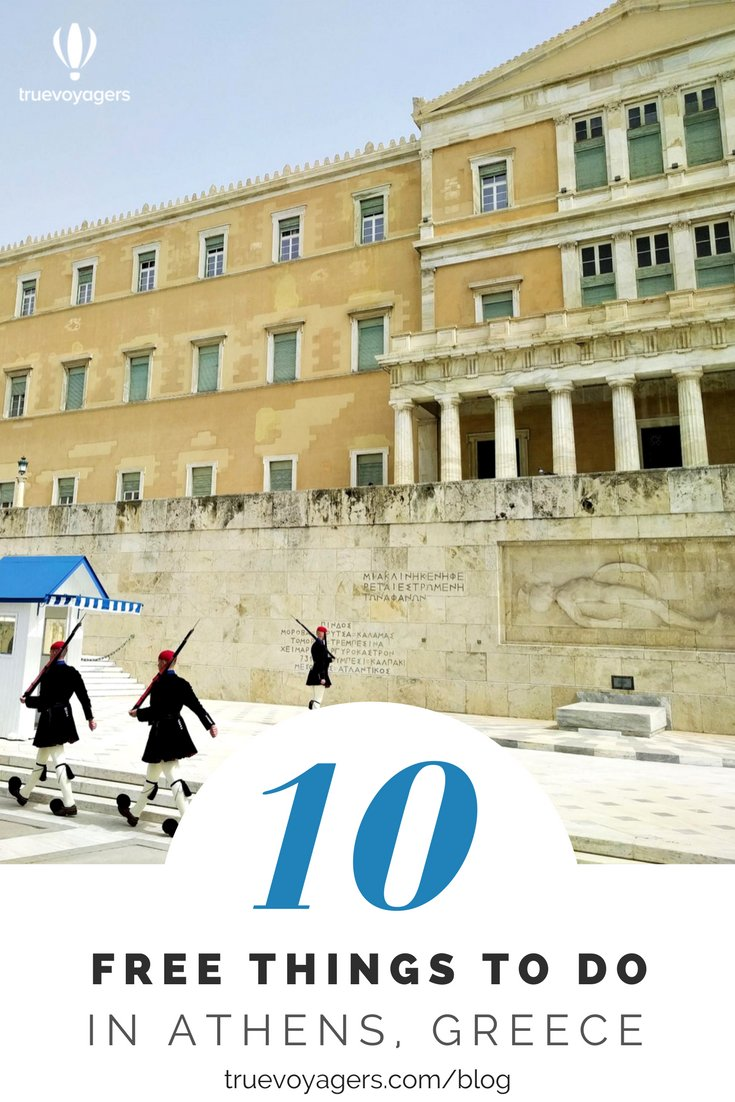 Ten free things to do in Athens, Greece by Truevoyagers