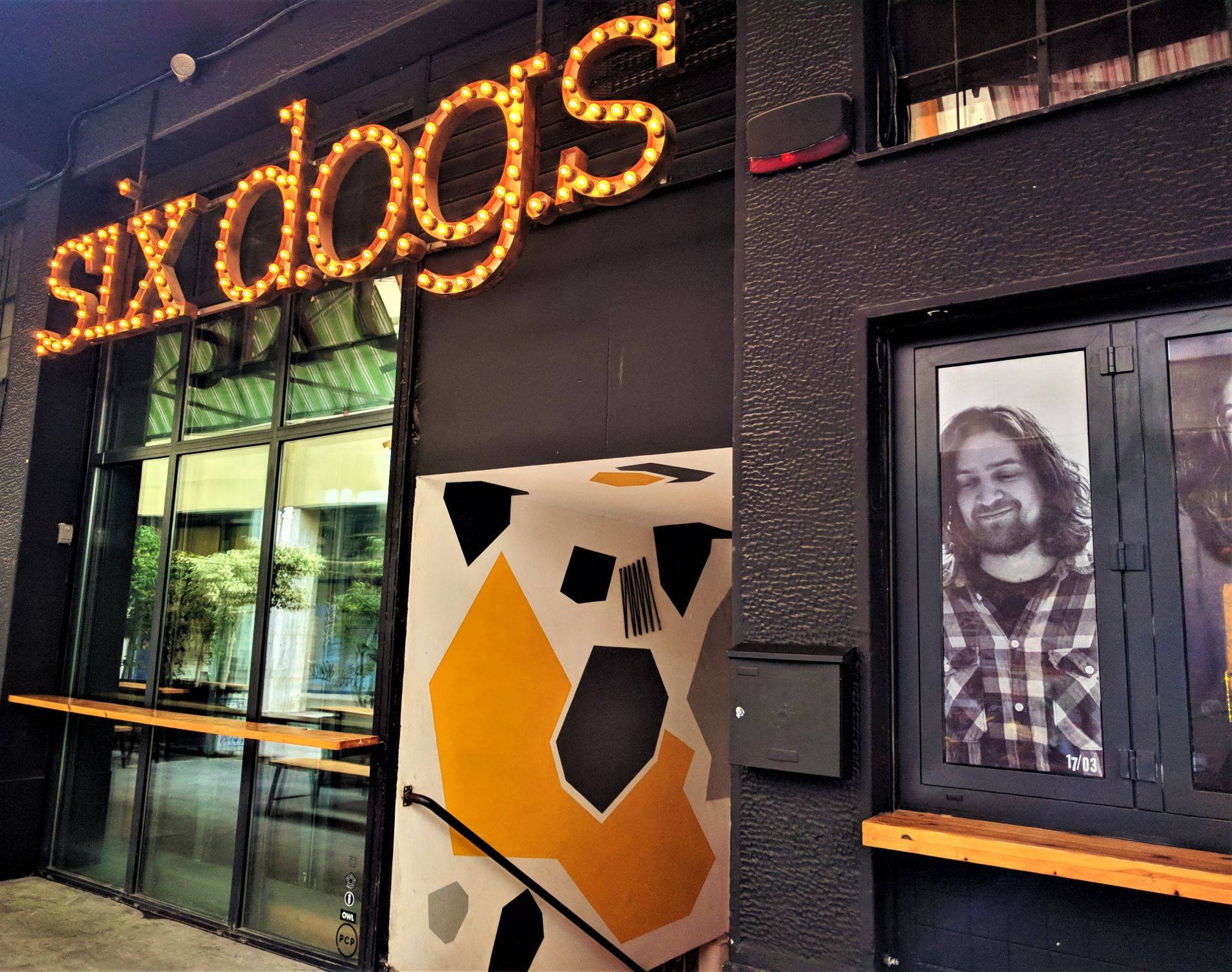 The  six d.o.g.s  cultural hub as seen from outside. Source: Truevoyagers