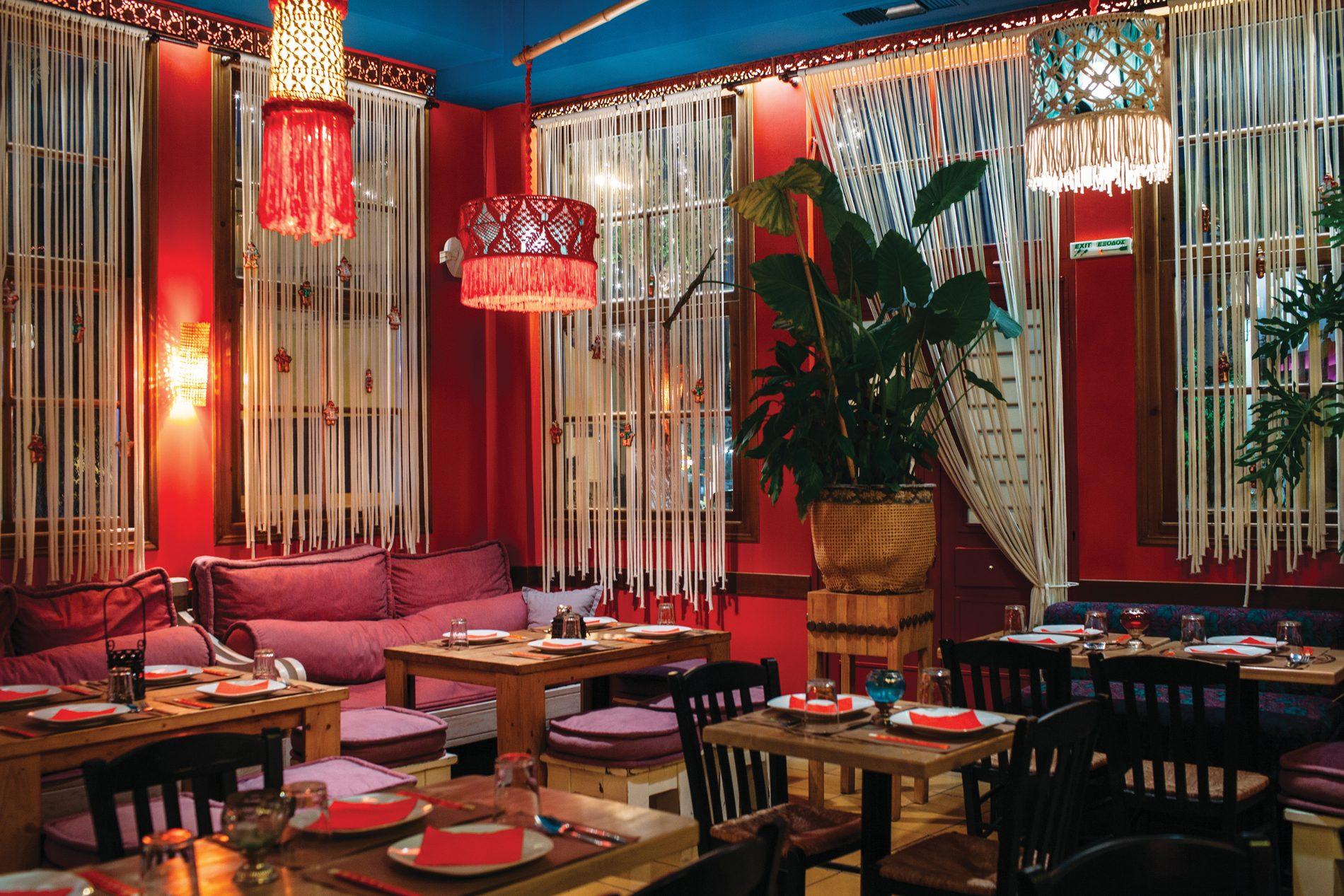 Andaman  in Kato Petralona travels you to Thailand through delicious plates. Source:  Lifo