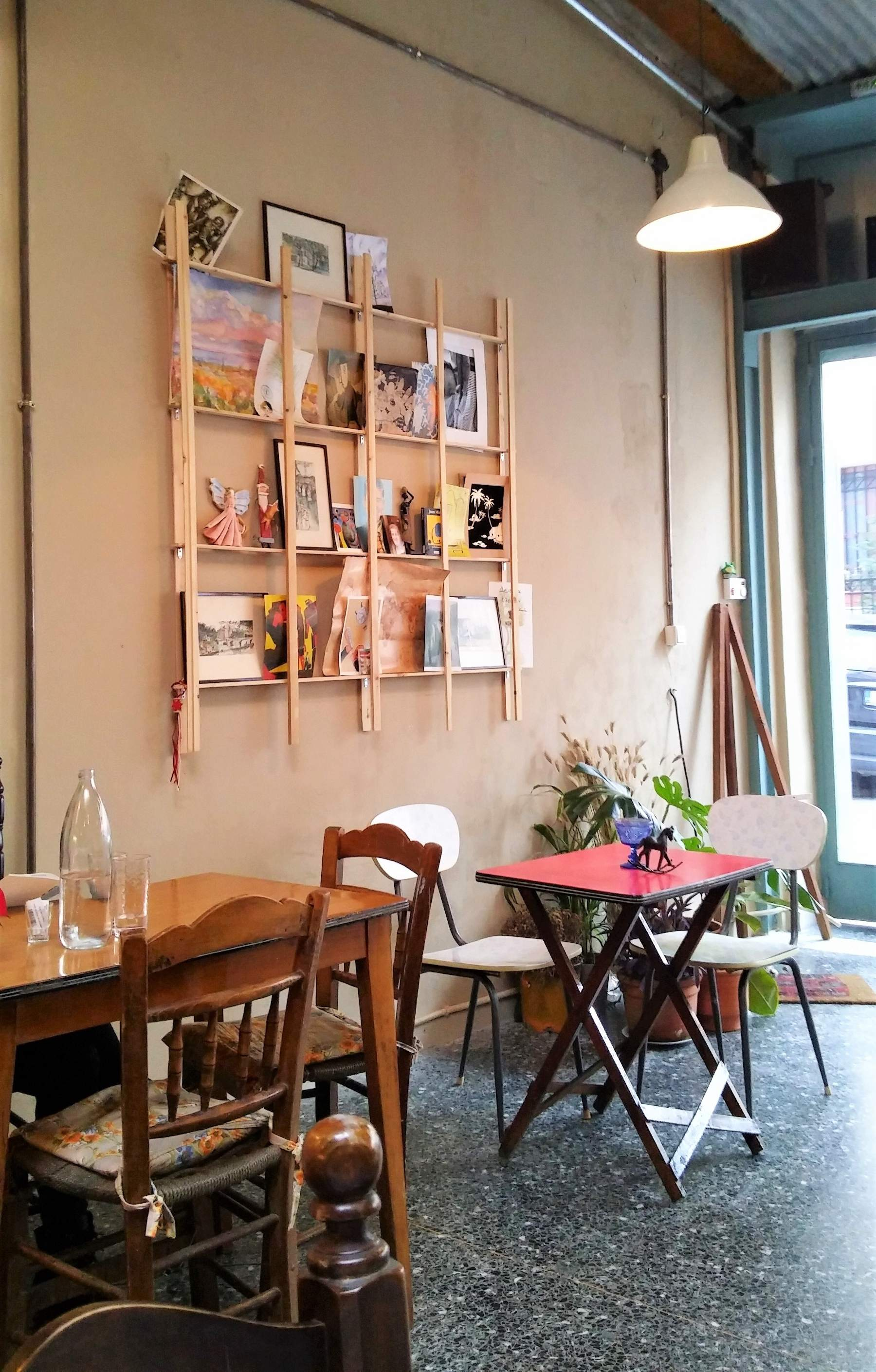 Nonna  in Psyrri is famous for its homemade food and its cozy interior. Source: Truevoyagers