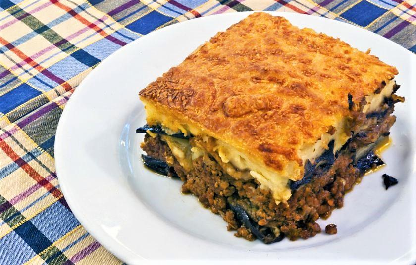 The original Greek  pastitsio  is being served in  Kitsoulas , Chalandri, Greece. Source: Gastronomos
