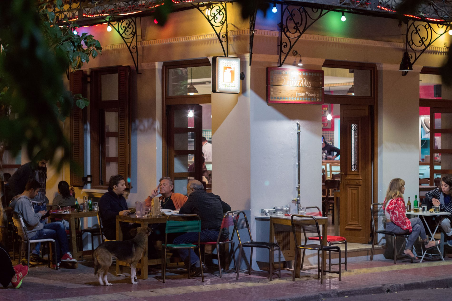 Metaxourgeio or Kerameikos is one of the most vibrant neighborhoods of Athens at night and is ideal for food and drinks at the various bar/restaurants of the area. Source: Alexandros Akrivos, Lifo