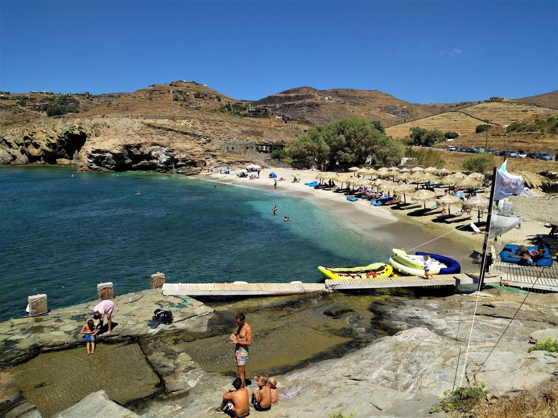 Koundouros beach in Kea/Tzia. Source: Truevoyagers