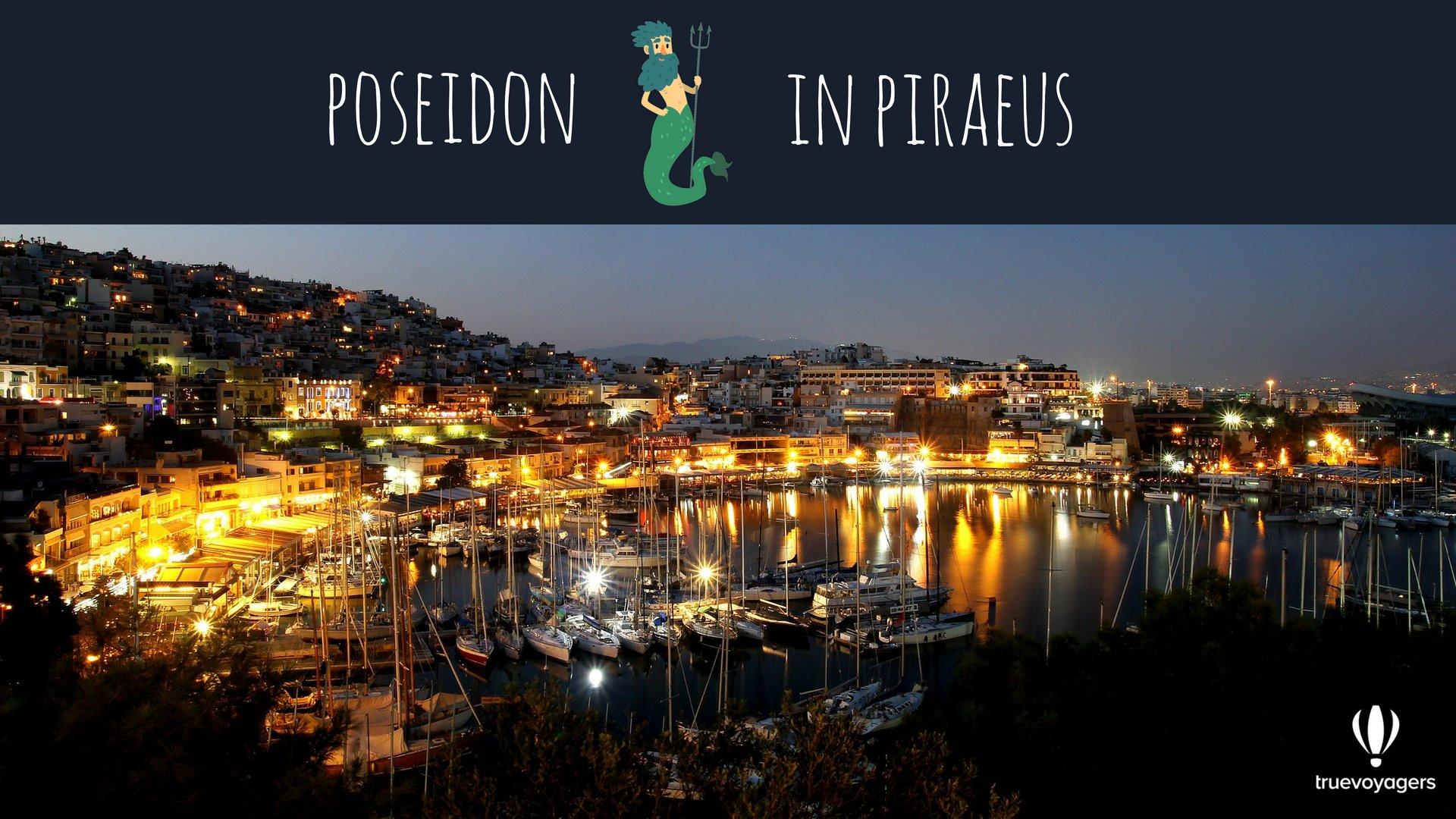 Poseidon in Piraeus. Copyright: Truevoyagers