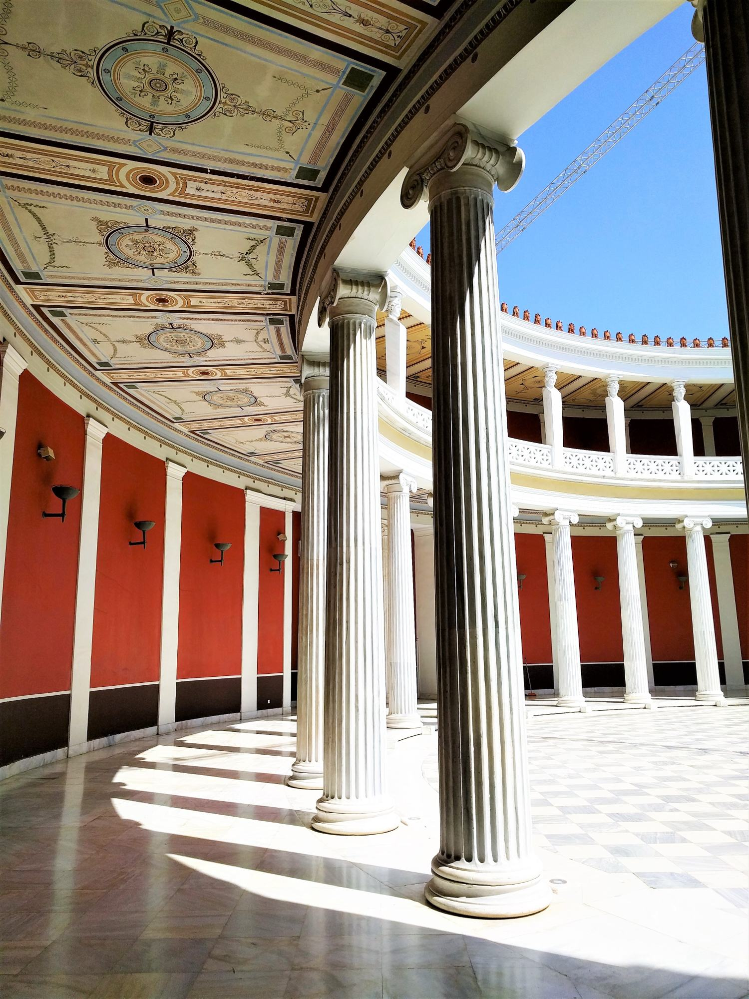 The Zappeion in the National Gardens of Athens is currently being used as a Conference and Exhibition Center for both public and private purposes. Source: Truevoyagers
