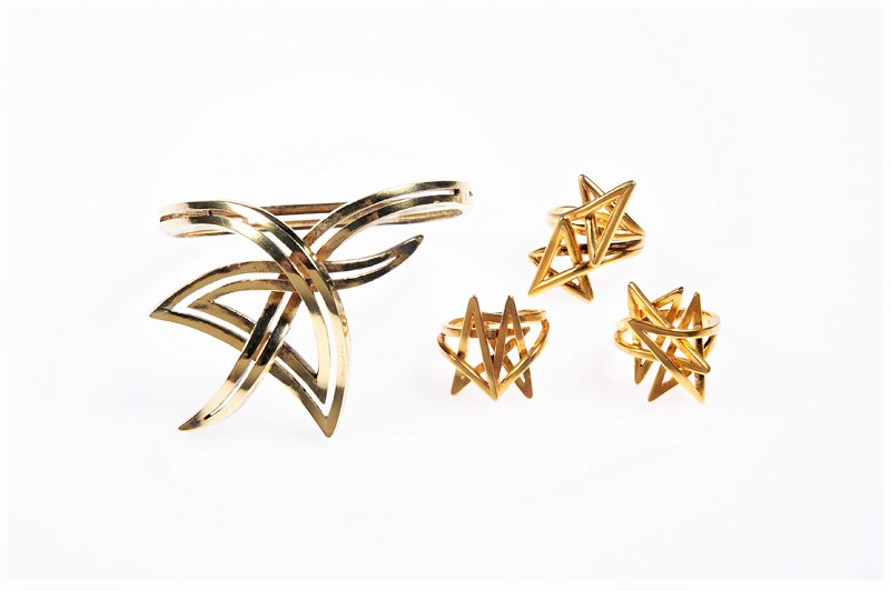 Movement in Space Collection, 1974. Source: Ilias Lalaounis Jewelry Museum
