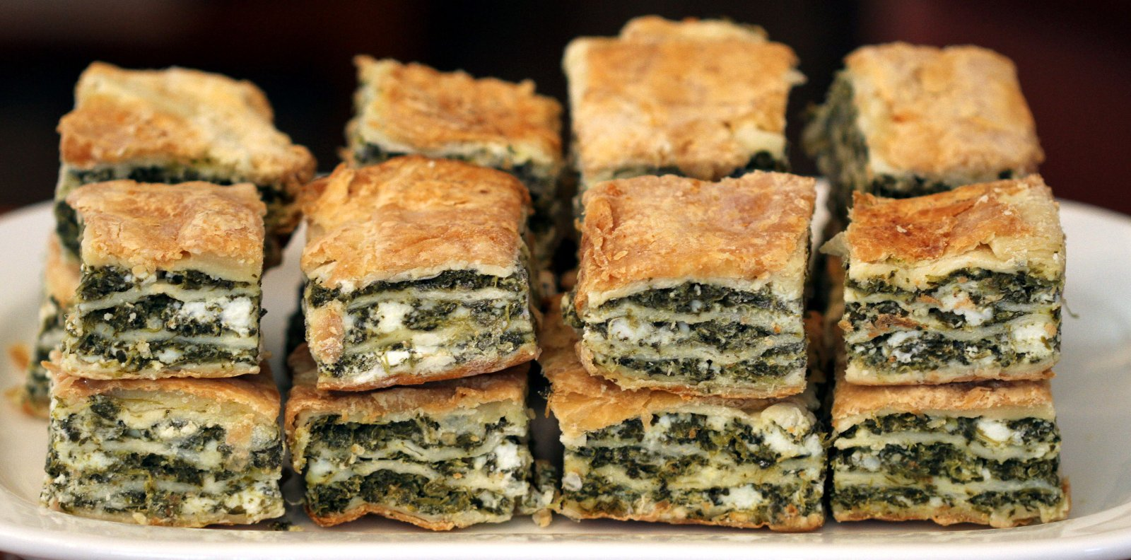 Spanakopita  fits perfectly for breakfast, brunch, lunch or dinner!
