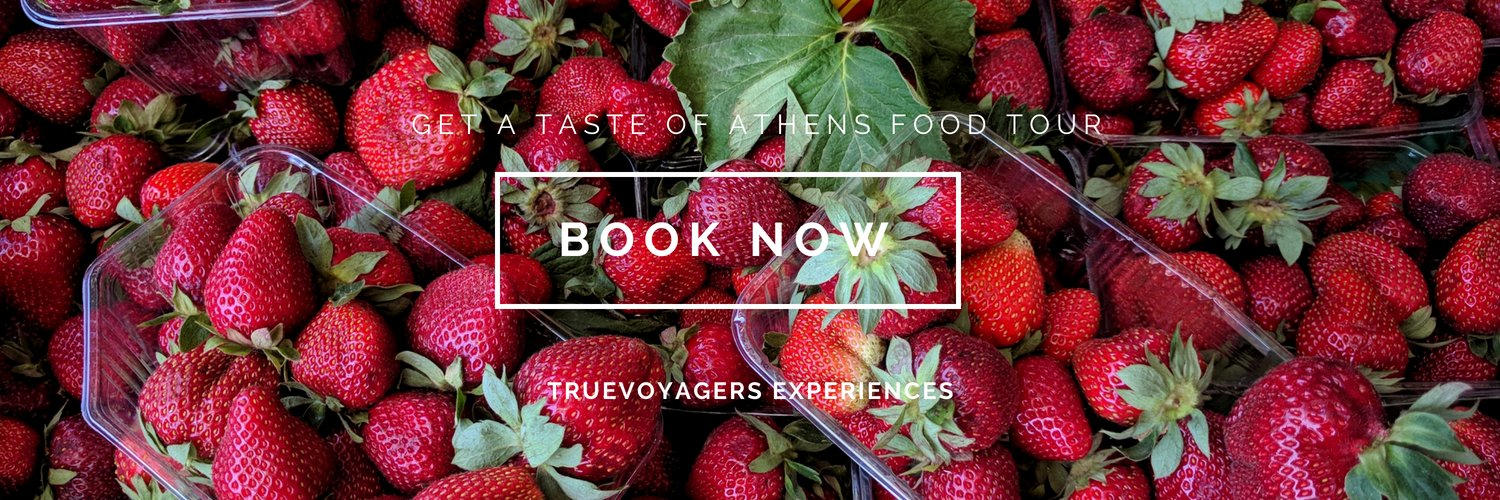 """Savor the best Greek dishes and learn everything about the local Greek cuisine in our  """"Get a Taste of Athens"""" food tour!"""