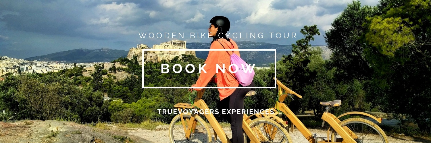 Explore Athens with a wooden bike  of the highest quality under the guidance of a local expert!