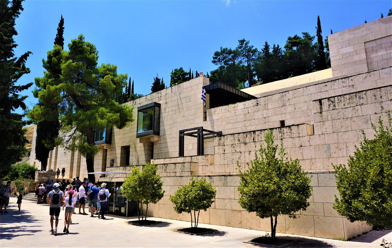 The archaeological museum of Delphi, visited by 700,000 people per year. Photo source: Joyofmuseums (CC BY-SA 4.0)