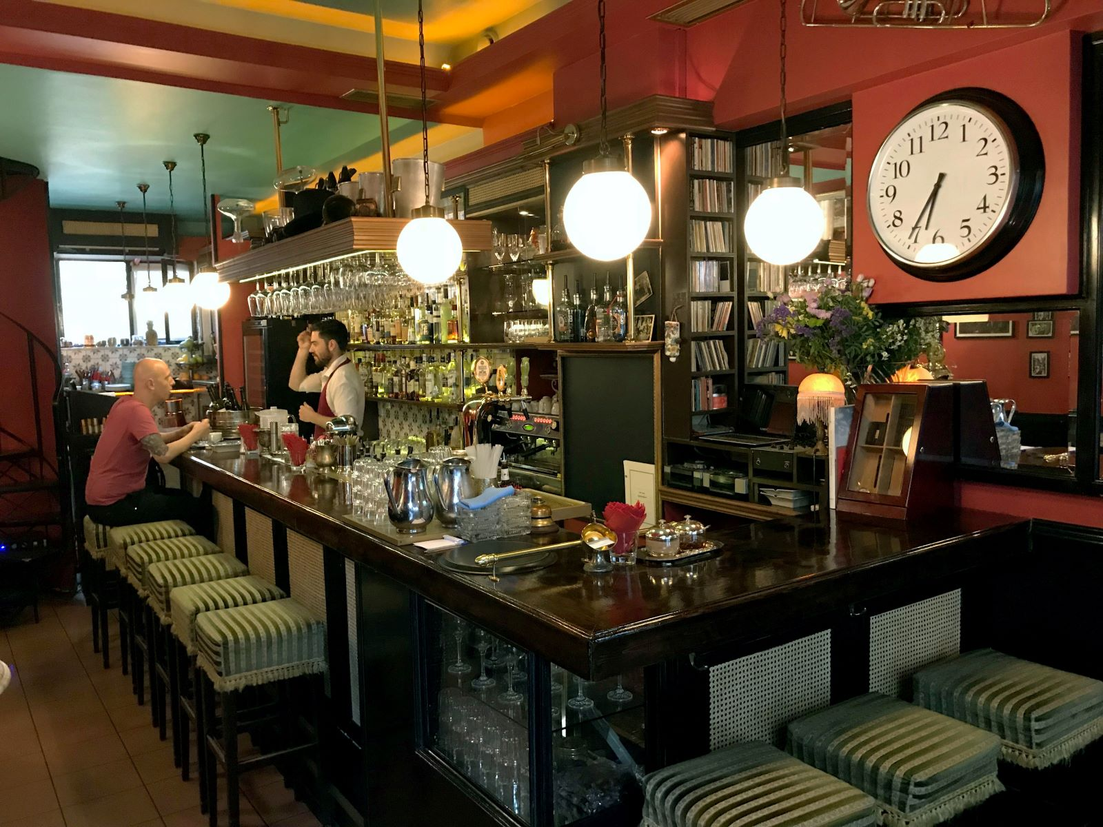 Alexandrino  is the closest you can find to a bistro/bar in the alternative area of Exarcheia in Athens. Photo source: Lonely Planet