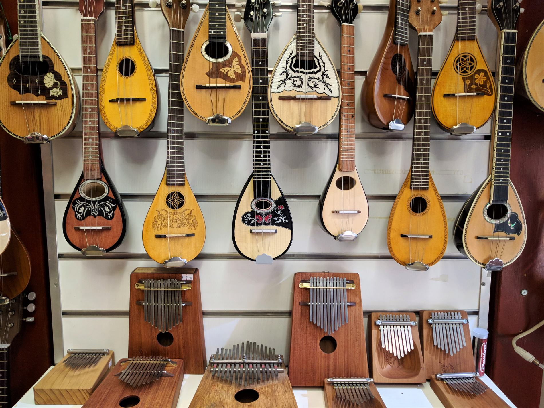 Bouzouki is one of the most original souvenirs you can buy from Greece.