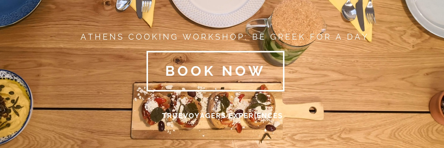 Learn how to cook like a Greek for a day under the guidance of a professional chef in our  cooking class !
