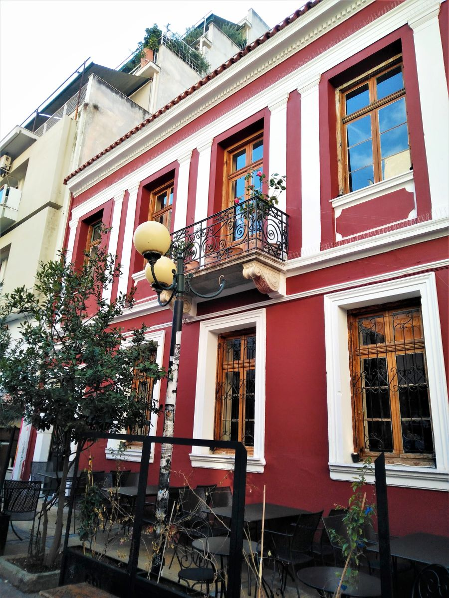 Exarcheia neighborhood offers great photo opportunities as there are many neoclassical buildings in the area. Photo source: Truevoyagers