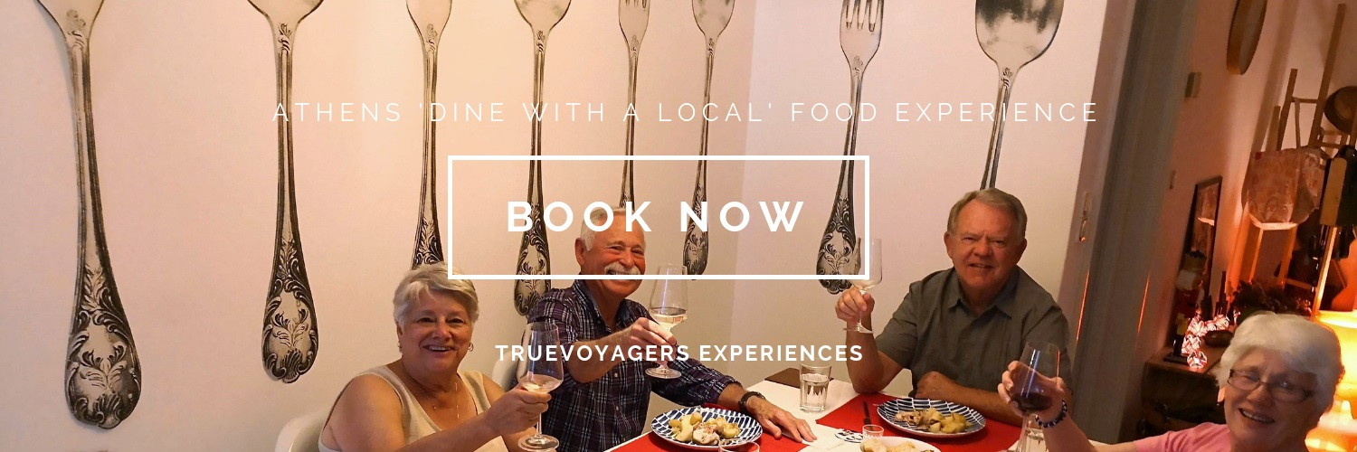 Meet a local and enjoy a  7-course dinner at their home in Athens !
