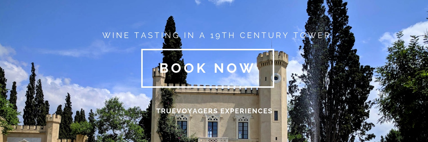 Combine a journey to the rich wine culture of Greece with a  visit to a 19th century tower in Athens !