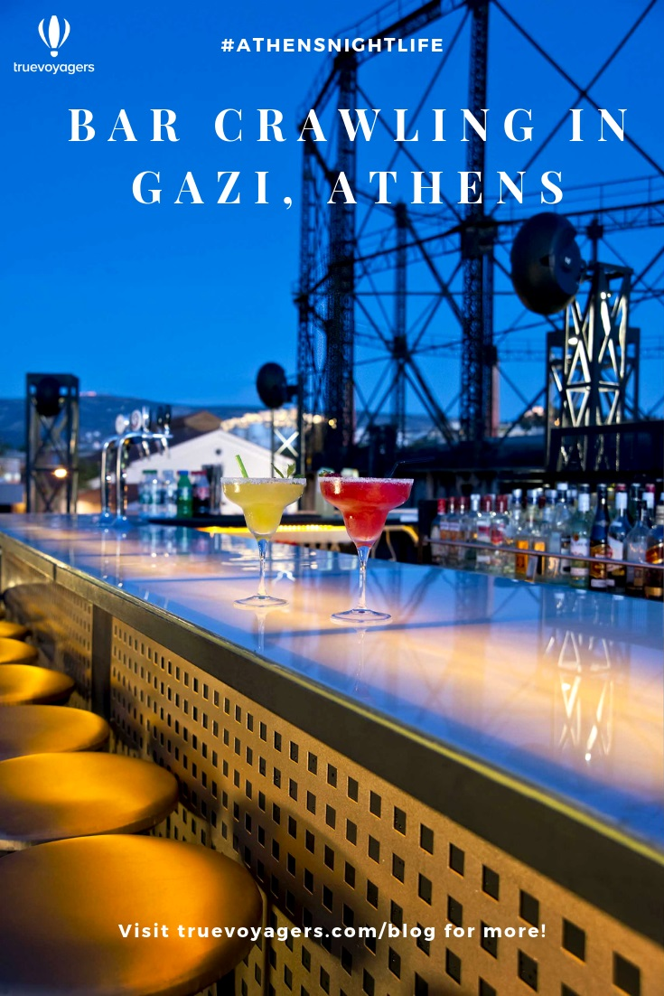 Bar Crawling in Gazi Neighborhood of Athens by Truevoyagers