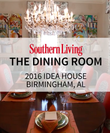 Video: Southern Living 2016 Idea House - The Dining Room -