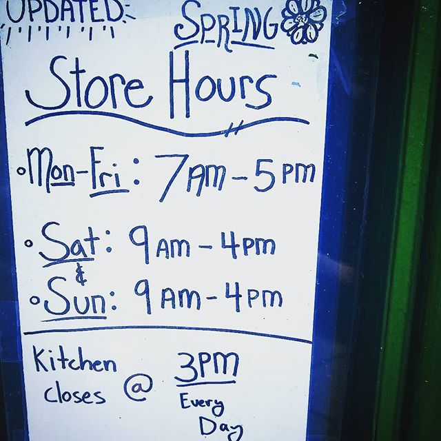 Expanding hours to meet the increased demand!