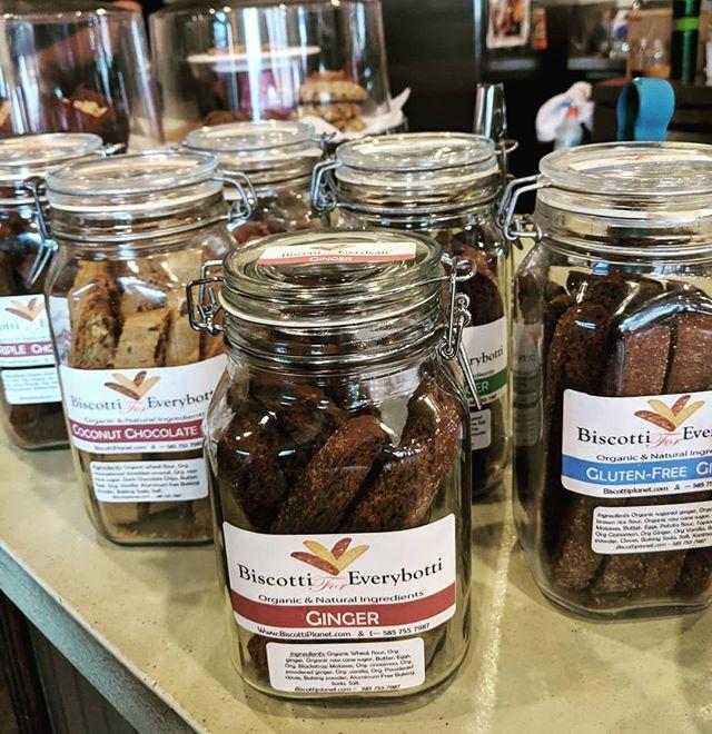 New Biscotti for Everybotti! #wny #wnycafes #onebuffalo #thirdwavecoffee #buffalove #allentown #westernny #wnycoffee #buffalo #coffeetime #coffeecup #cafe #café #caffè #newyork #nys #nycoffee #localcoffee #localcoffeeshop #3rdwavecoffee #biscottiforeverybotti #biscotti
