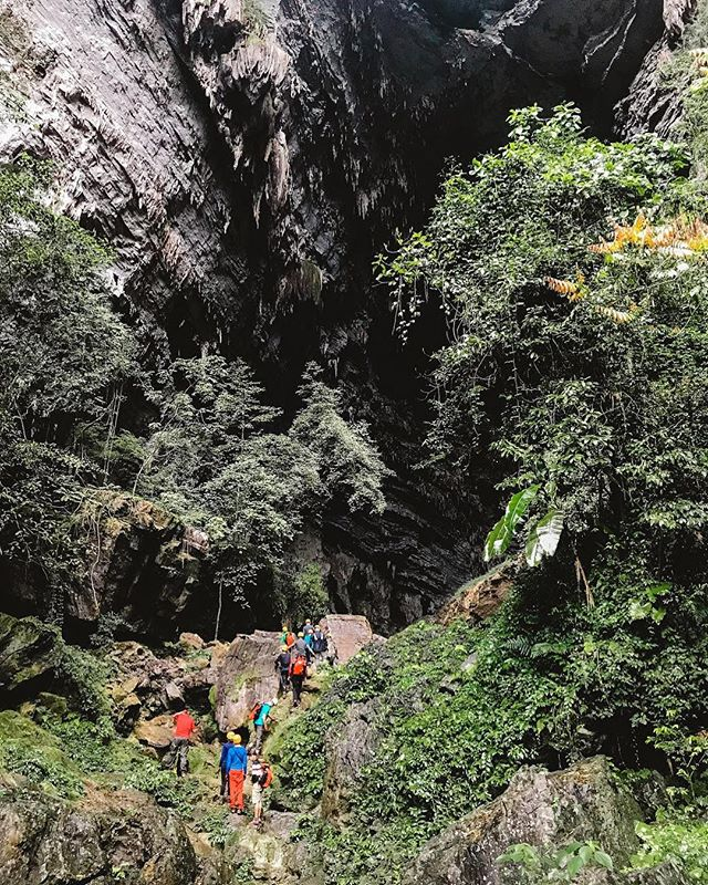 Cave trekking in Phong Nha with @OxalisVietnam.🌿 Awarded UNESCO status in 2003, Phong Nha Ke Bang National Park is known for its seemingly endless number of cave systems. While three of these caves are open to the public for independent exploration (and well worth visiting!), if you'd like to get more off-the-beaten path you'll need to join a single or multi-day adventure tour. 🦇 Due to time and budget, we opted for the one-day Hang Tien Cave Trek with Oxalis, and had an absolute blast romping through the jungle and then heading deep into a cave system guided only by the lights of our headlamps. We paid roughly $88 per person for the tour, and it ended up being one of the absolute highlights of our time in Vietnam! 🍃 📷 by @ShelbyAlisha #DiscoverVietnam #ShareTheWorldUA