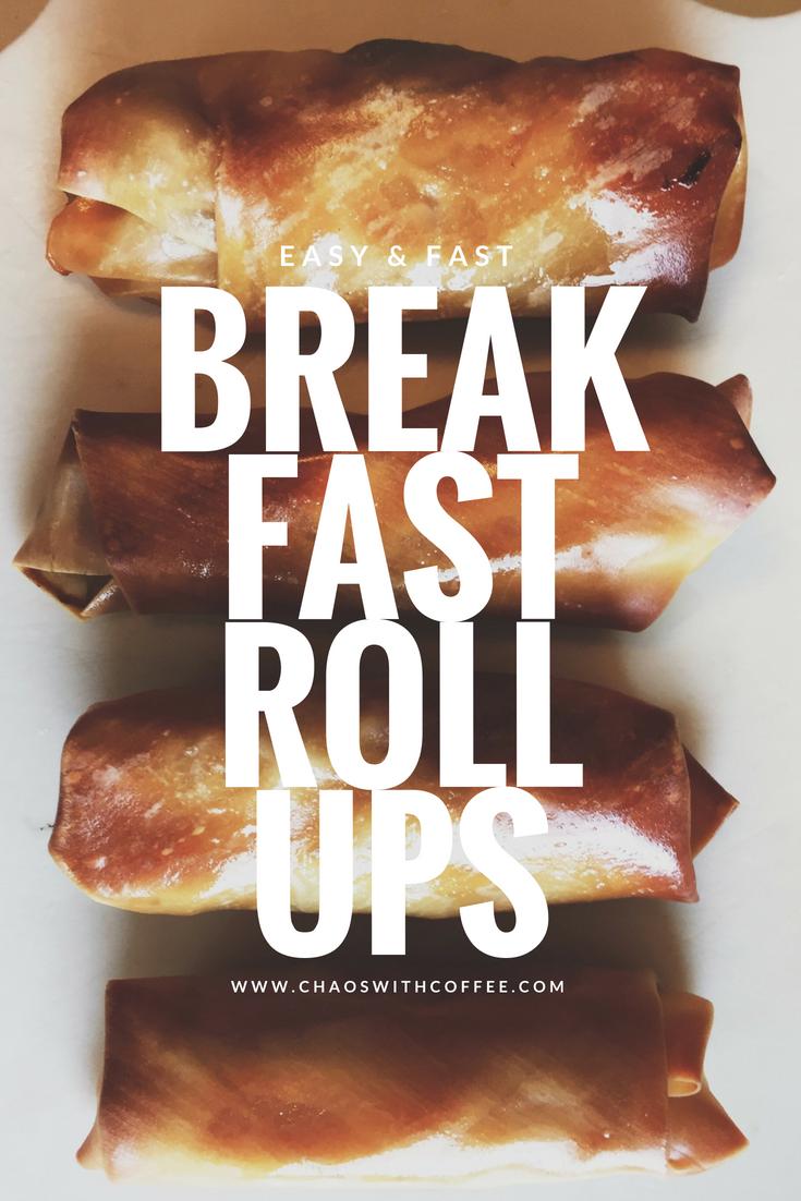 Breakfast Roll Ups via Chaos With Coffee