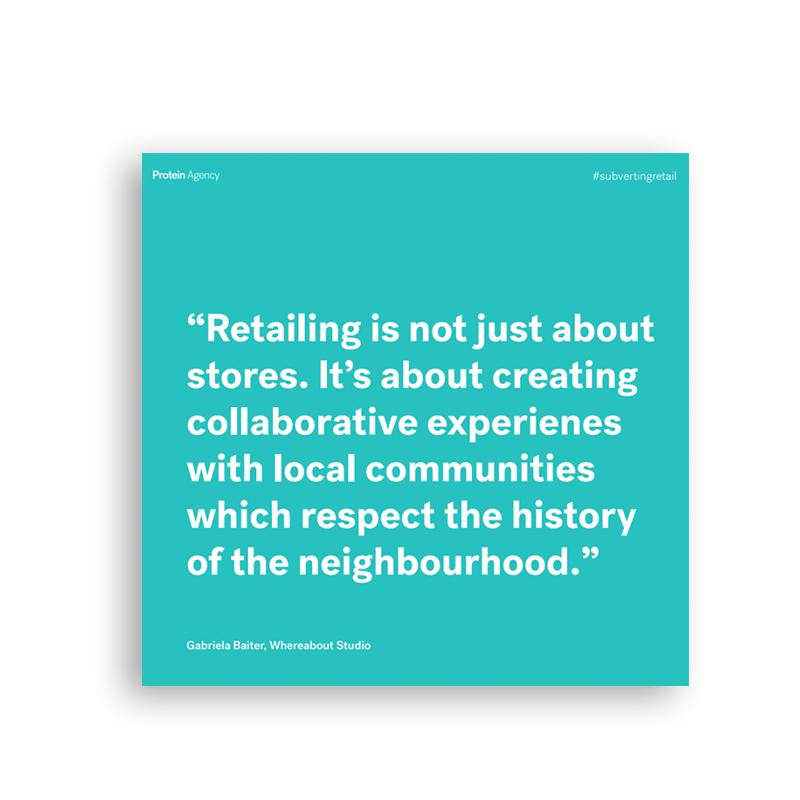 Subverting Retail Report | December 2018