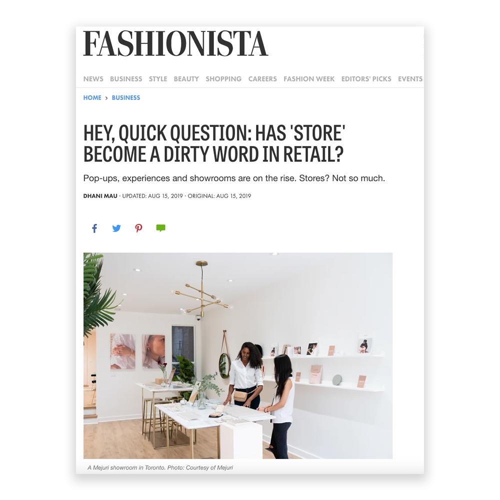 Fashionista August 2019