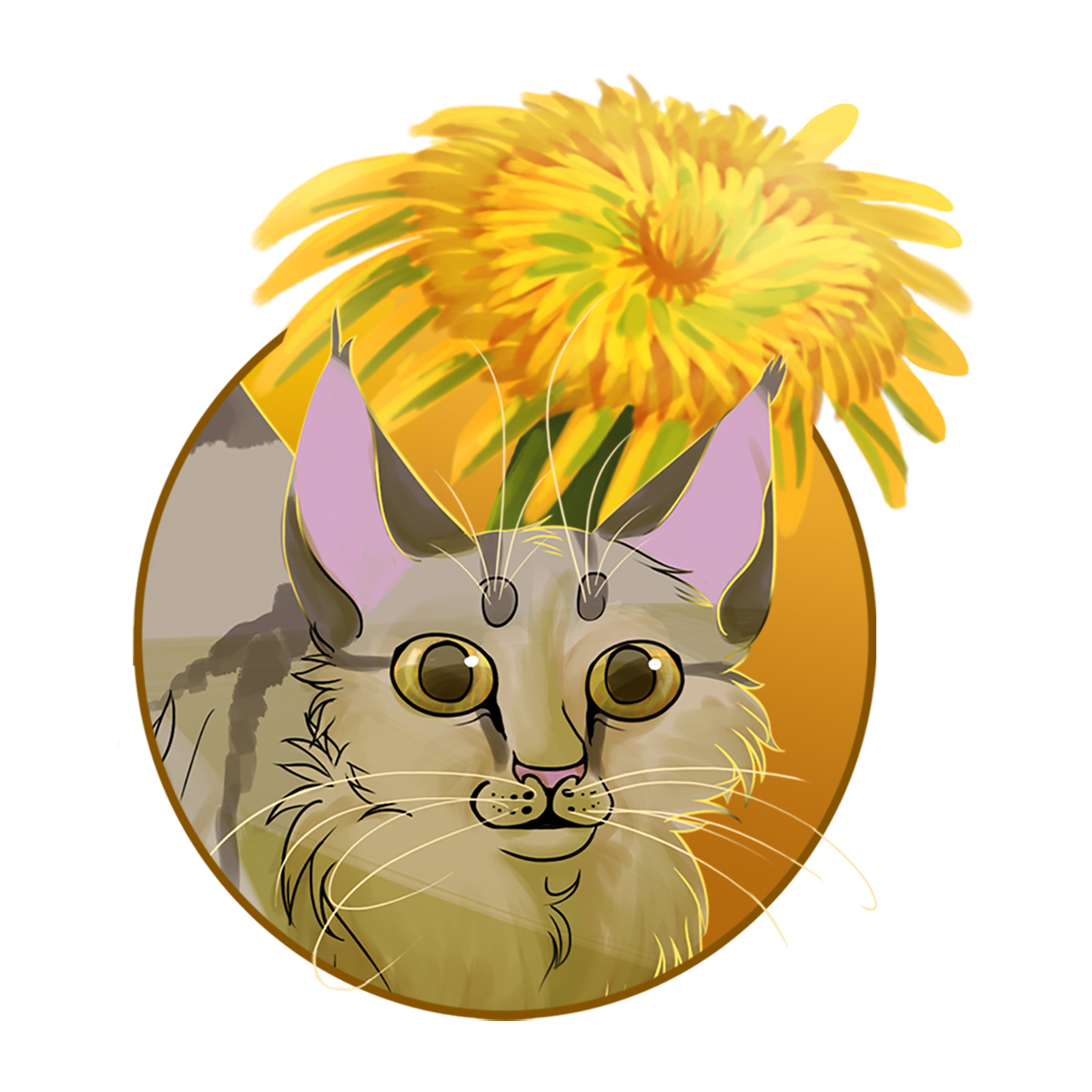 Dandelion is an adventurer. She knows how to climb flowers and trees and is always looking for new places to explore.