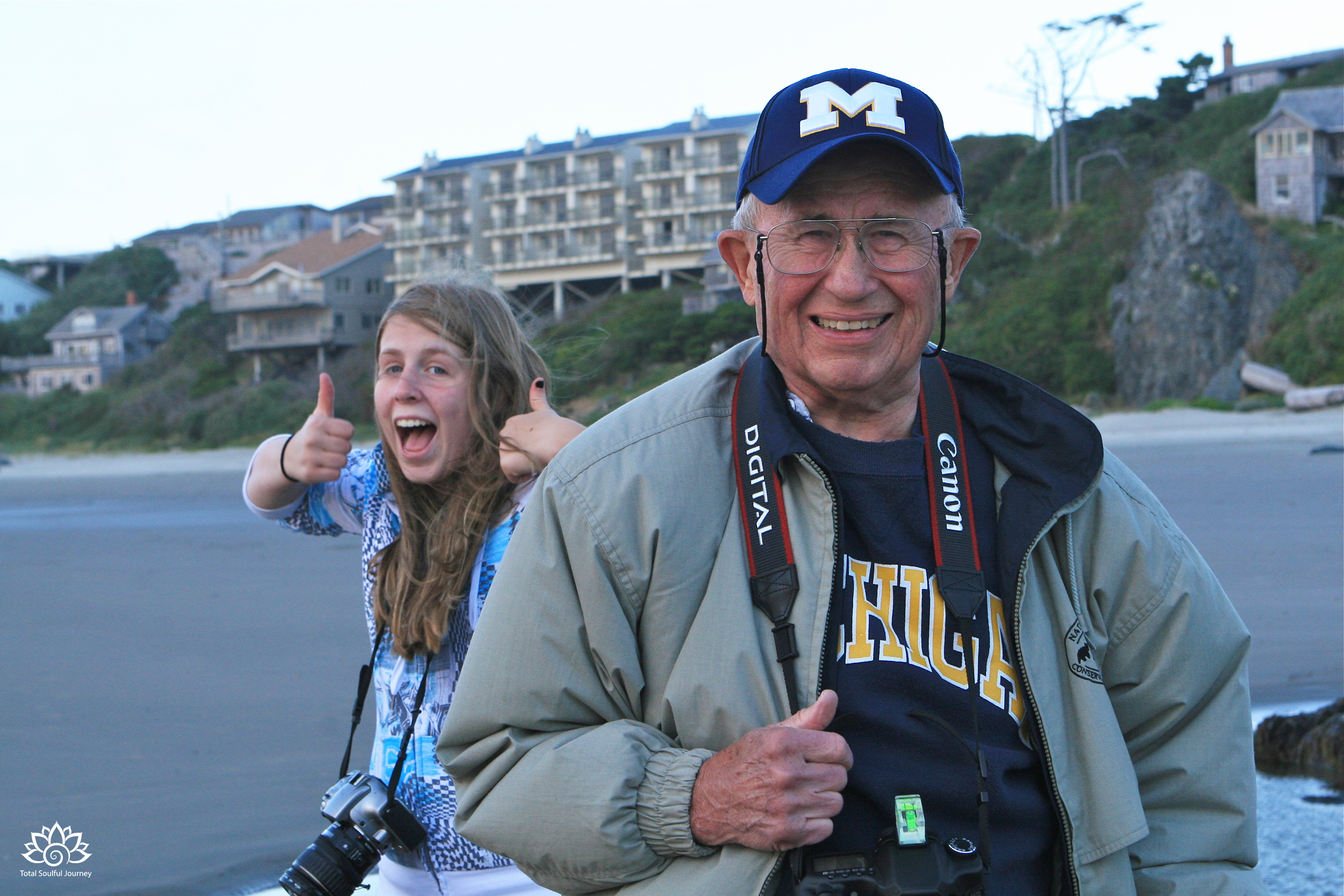 Can you tell that my daughter and my dad had a great relationship? - Bandon, Oregon