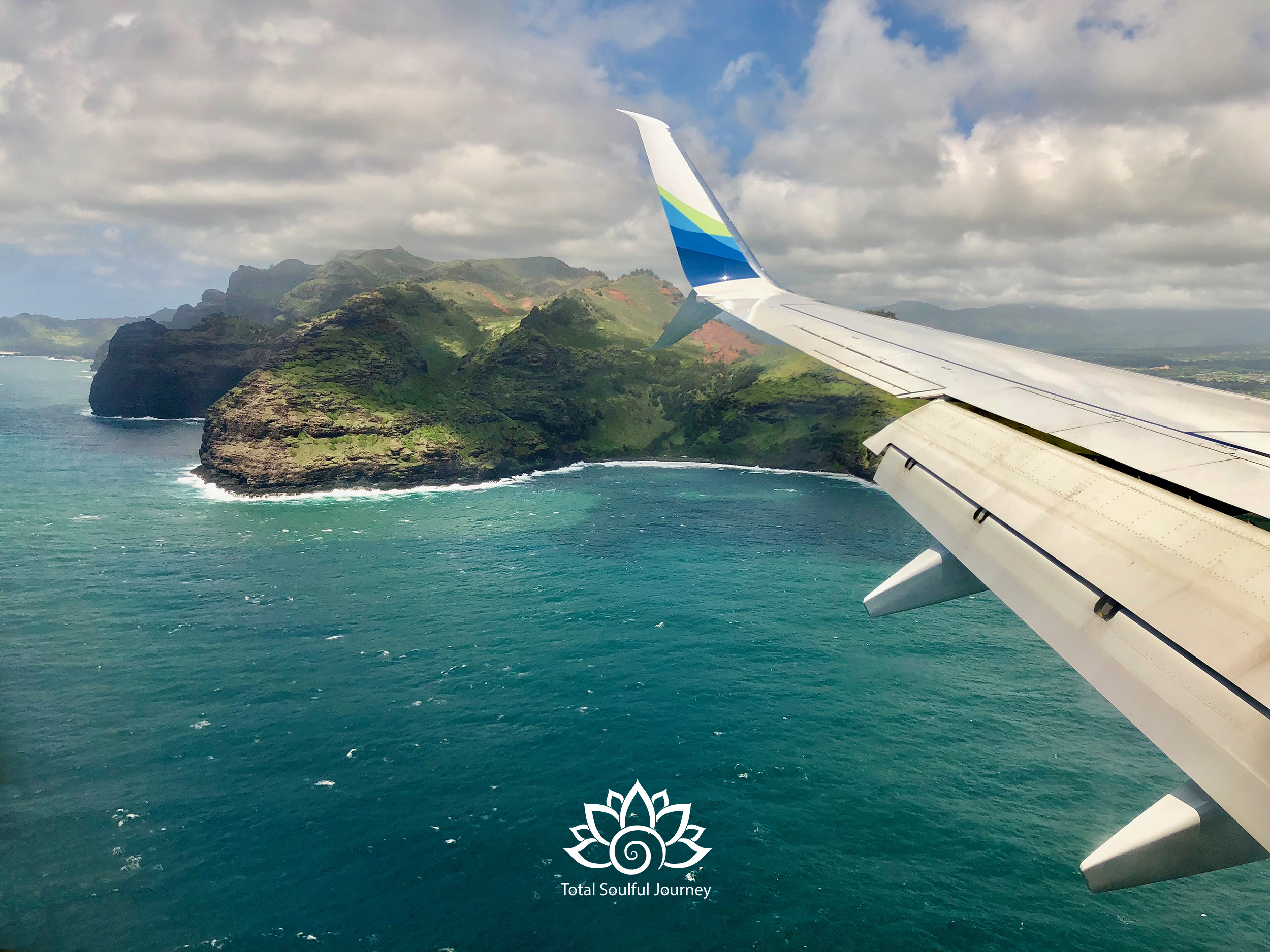 On approach to the main airport for the island of Kauai in the city of Lihue. Photography by Paul Garrett