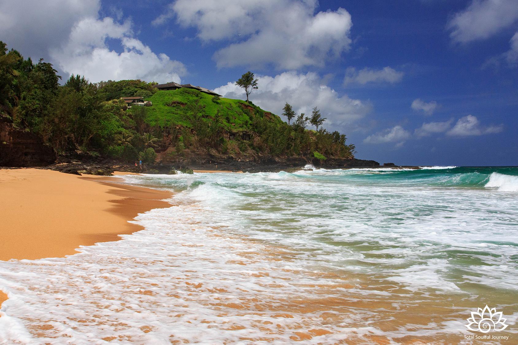 Secret Beach Photographed by Paul Garrett