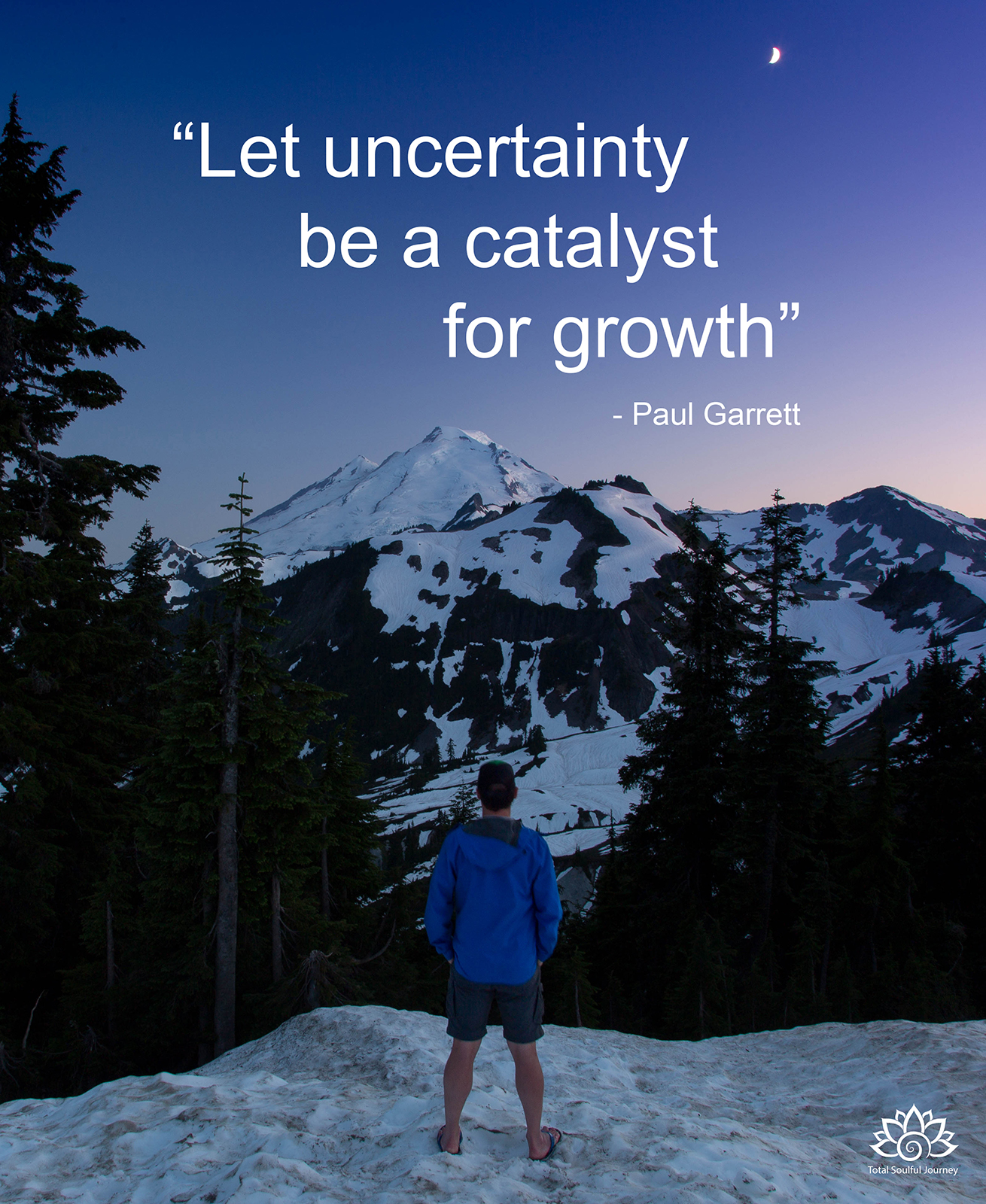 Use uncertainty to your advantage. It can be a good thing! Photography by Paul Garrett