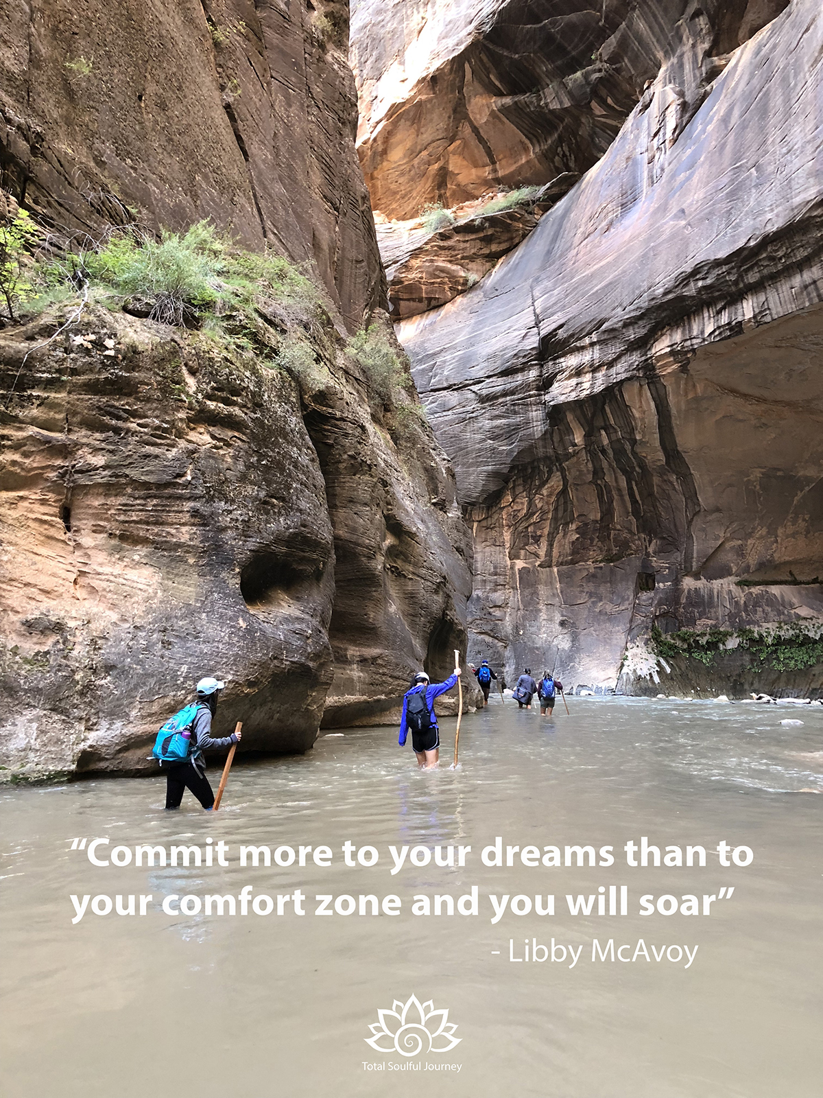 Hiking the Zion Narrows can be intimidating, but ultimately rewarding when you rise to the challenge of hiking up this river. Photography by Paul Garrett