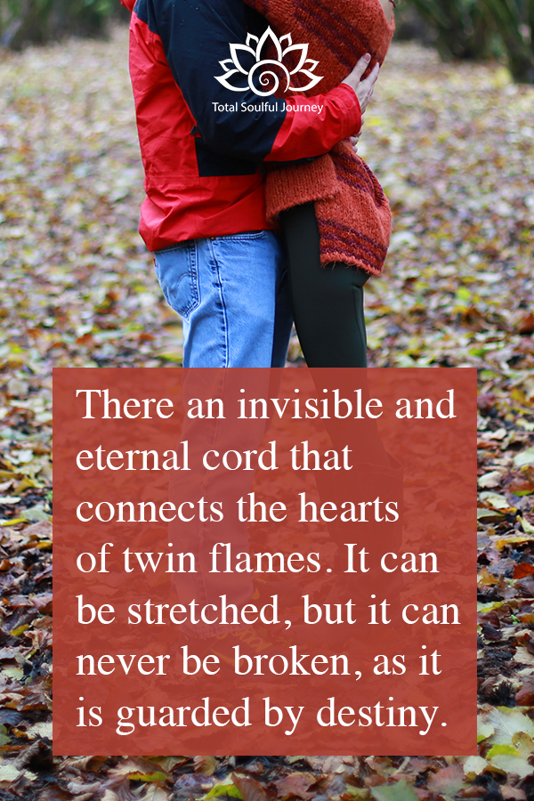 When twin flames run from each other, they are often running from the dark parts of themselves that they don't want to face. Photography by Paul Garrett