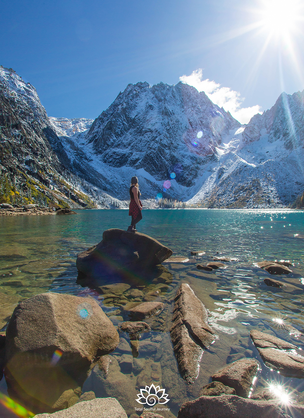 May nature inspire you with its magnificence! Hiking at Colchuck Lake - Photography by Paul Garrett
