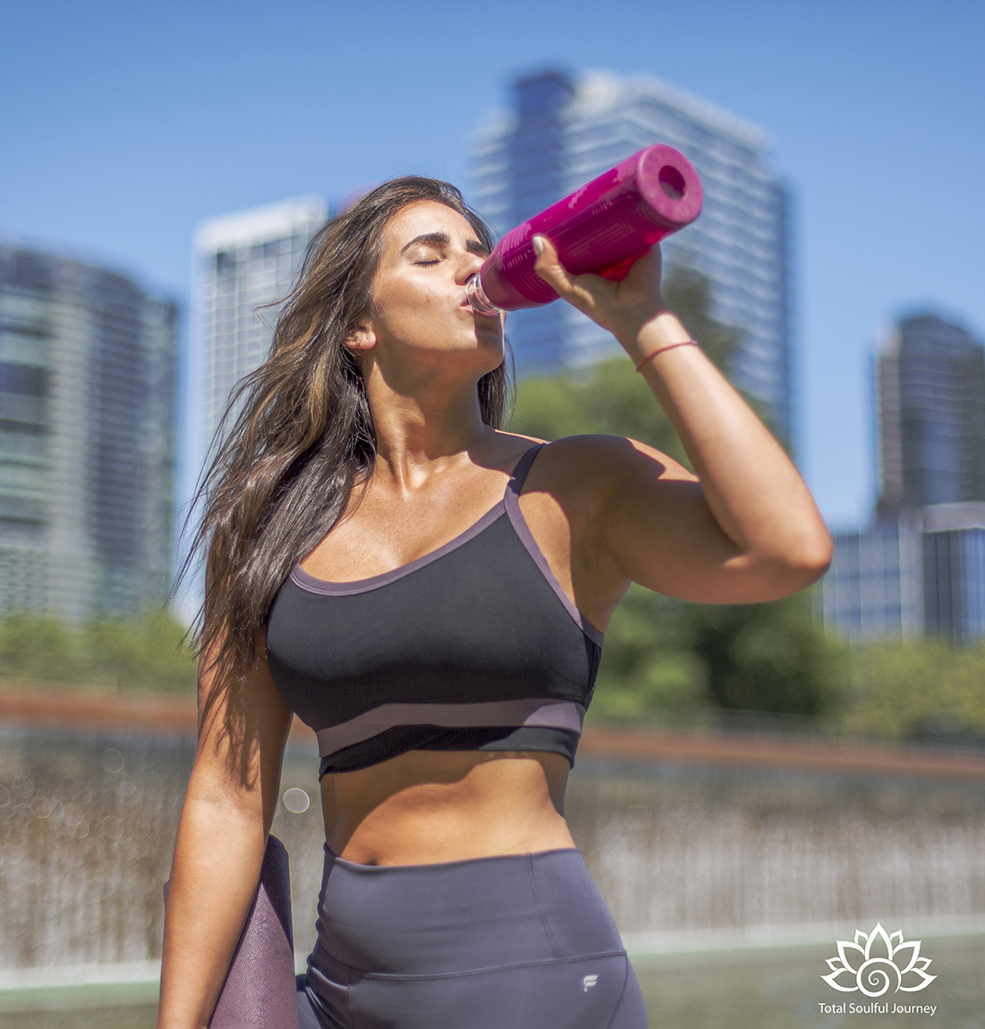 Sunshine, exercise and hydration boost our energy. Photography by Paul Garrett
