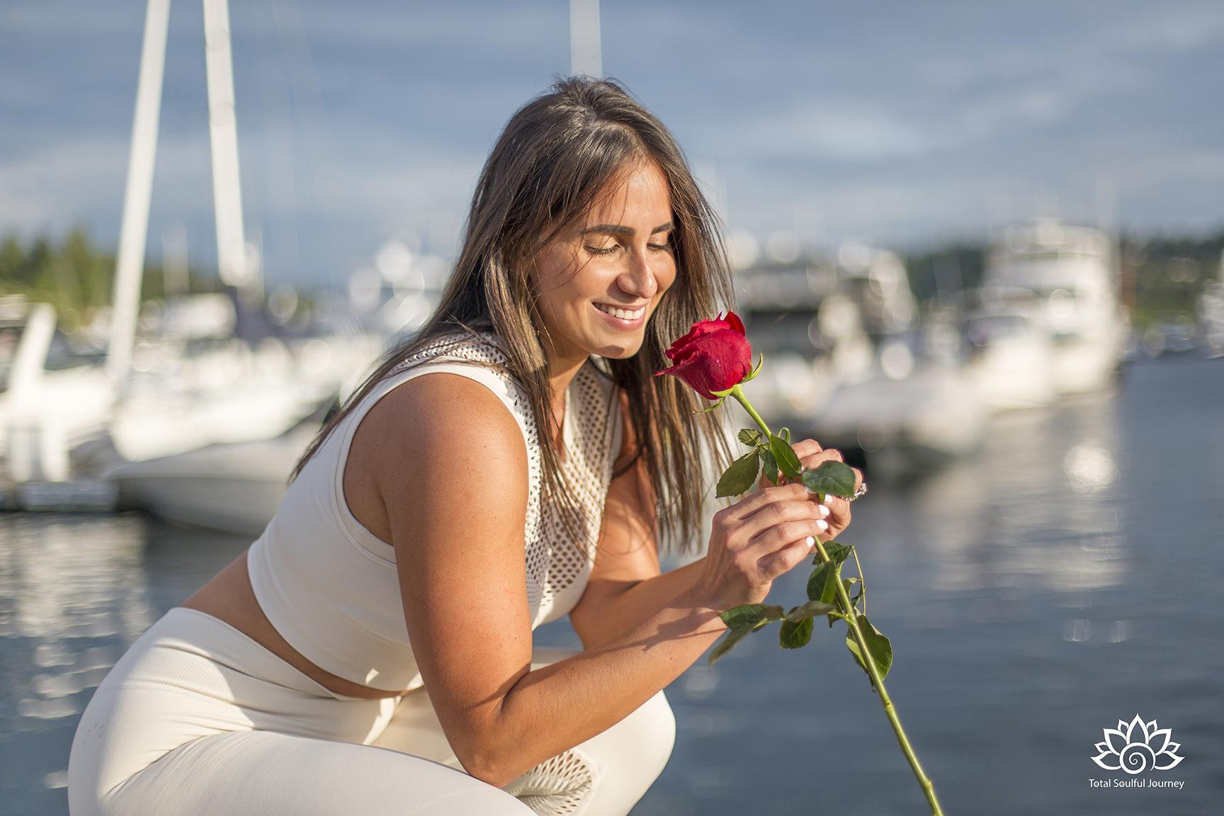 Aileen Day - Dentist, yoga teacher and wellness expert. Photography by Paul Garrett