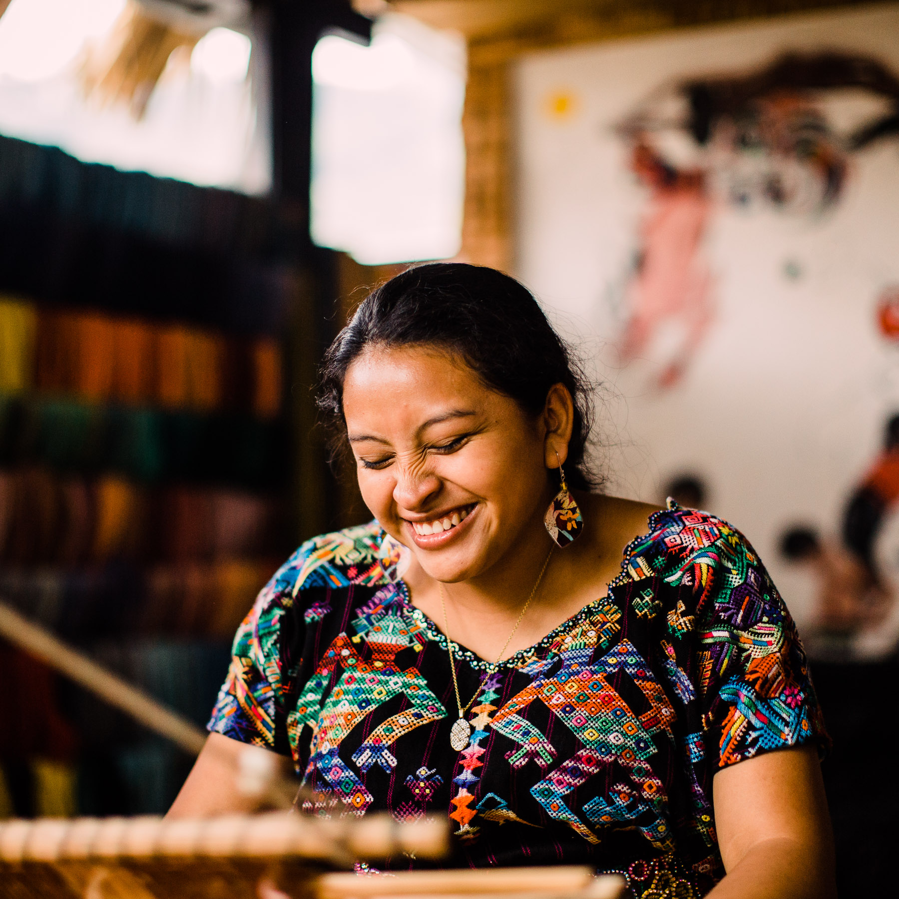 """"""" Casa Flor Ixcaco  houses 22 families dedicated to the production and commercialization of handcrafted items created in the most natural way possible."""""""