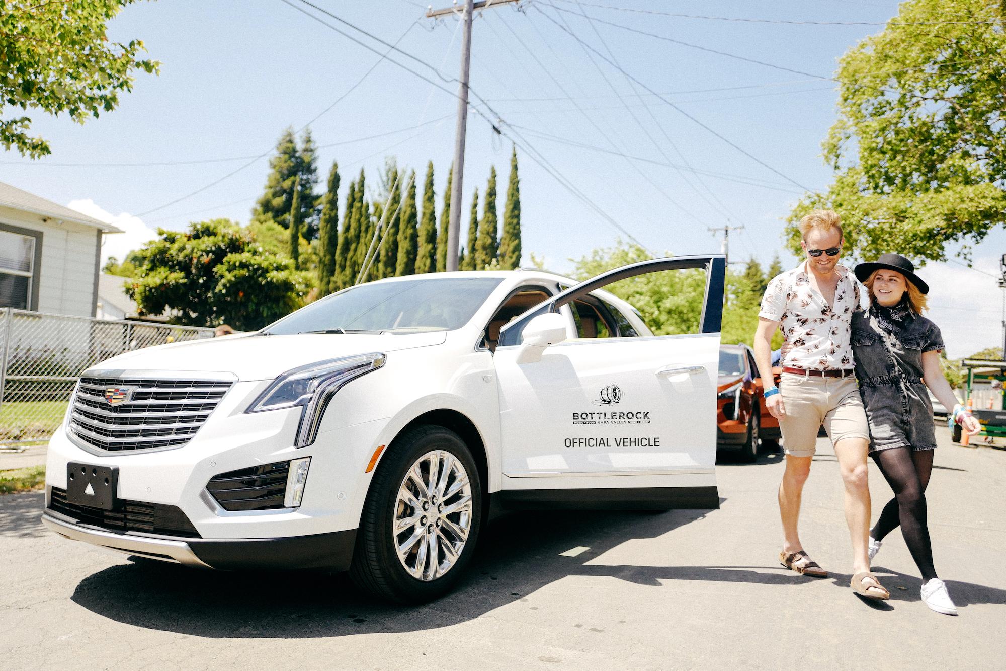 Cadillac @ BottleRock Napa Valley