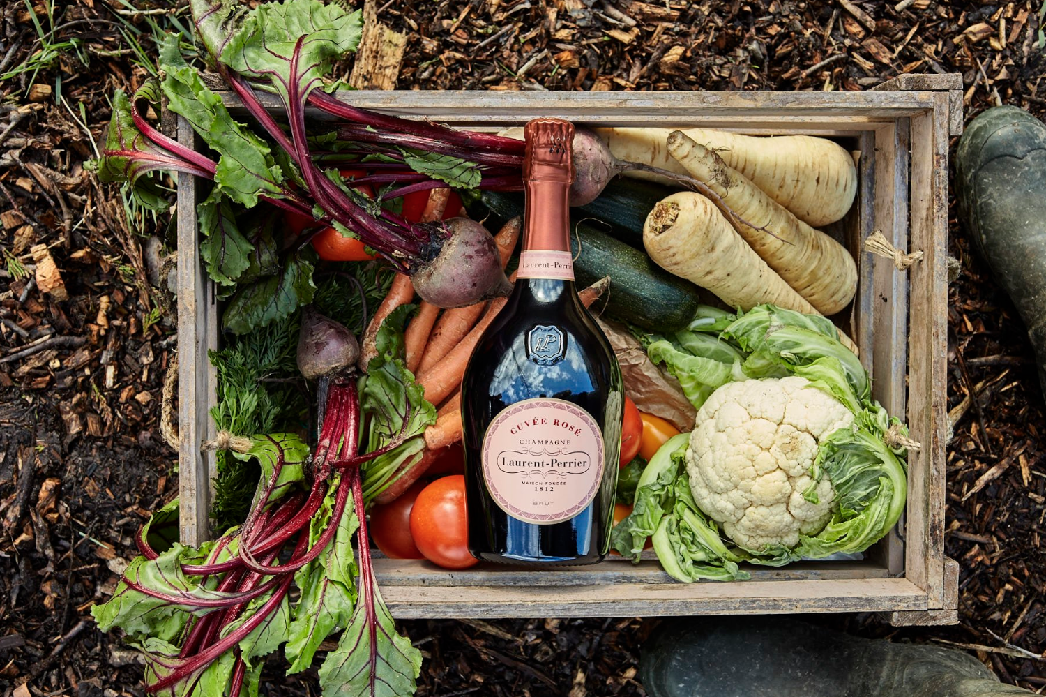 Laurent Perrier pairing master classes with Indie Ecology & London's top chefs. 2018.