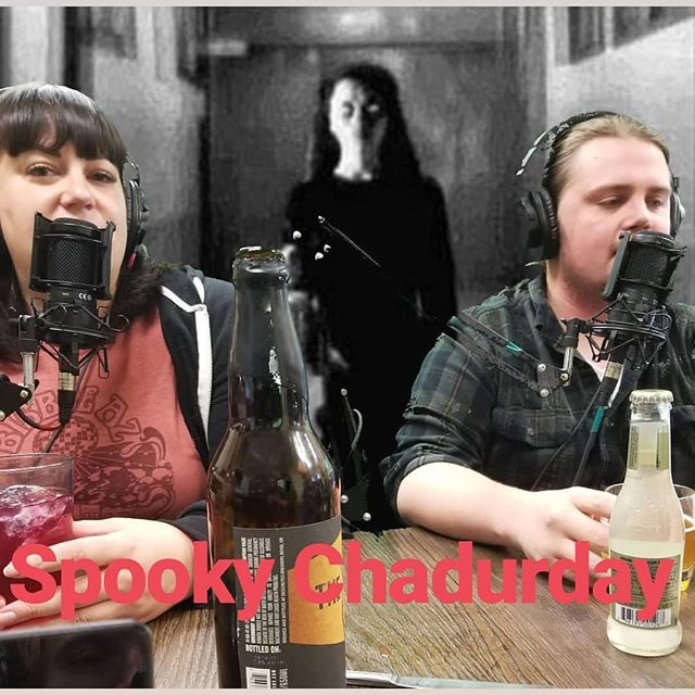 Spooky Chadurday coming out tonight! Getting ready for the spooky stories (creepypasta) and a series of episodes that will come out this month all around Halloween, the scary and the weird.  #podcast #comedy #conspiracytheory #truecrime #comedy #creepypasta #halloween #scary #chadurday #horror