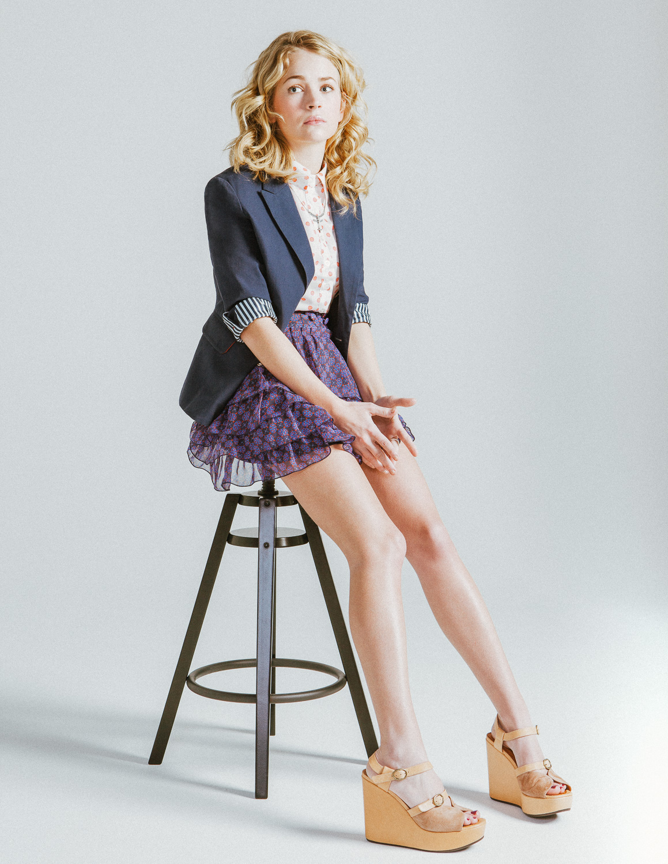 Britt Robertson / Nylon Magazine