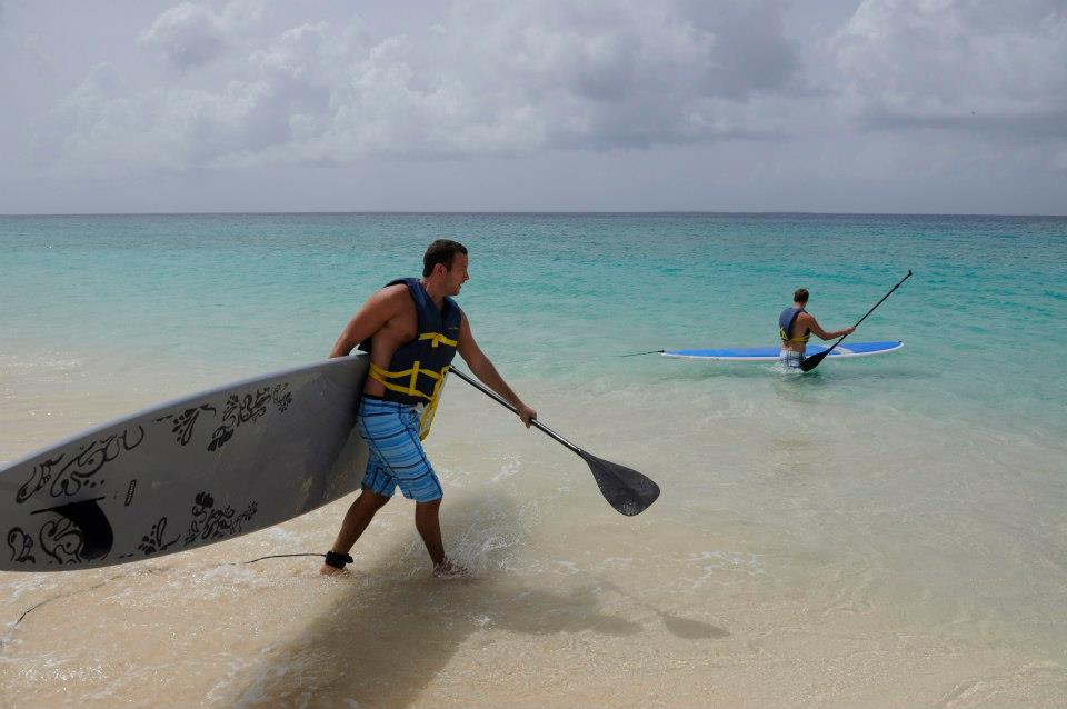 Paddleboarding in Anguilla