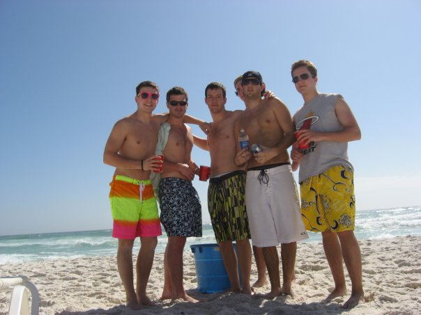Spring Break, sophomore year