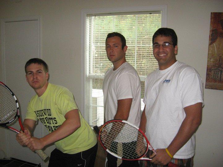 Intramural Tennis Champions