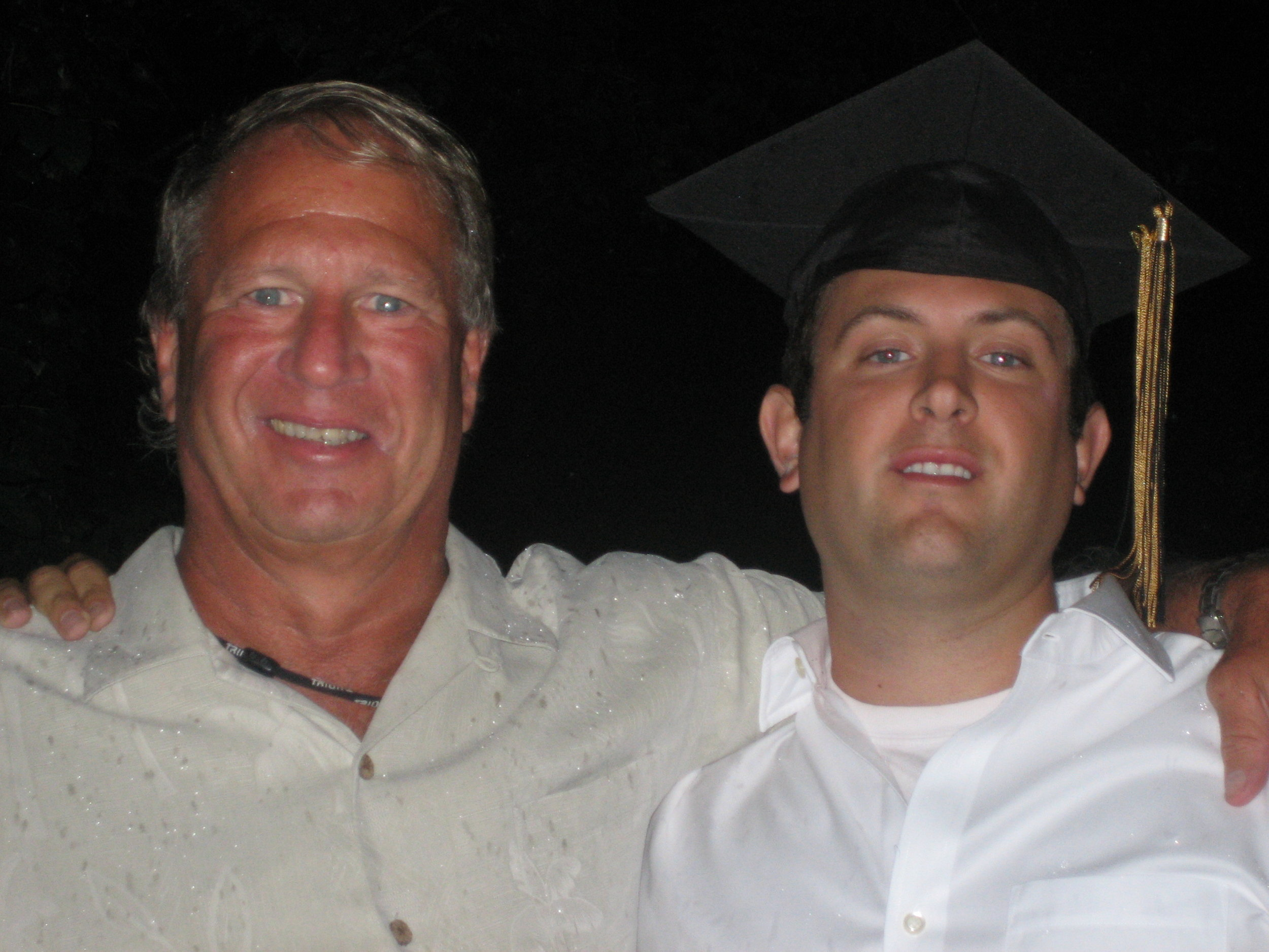 Uncle Miles & Jeff at graduation