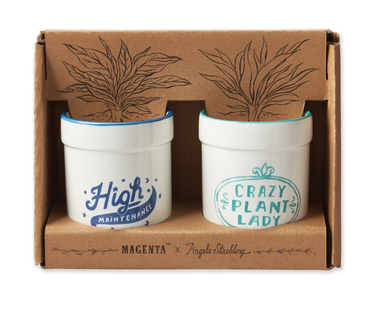 Planters with gift box, $35.