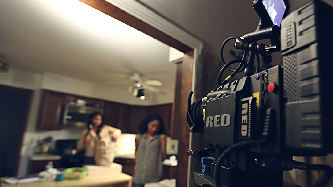 Behind the Scenes - Sheepish. Shot on RED.